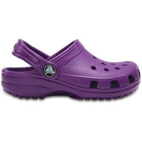 Crocs Classic Sandały Dzieci fioletowy